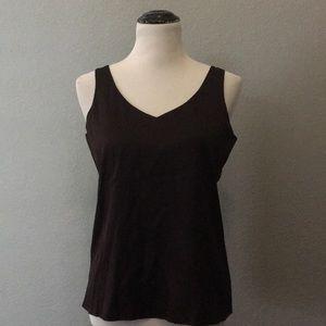 Eileen Fisher silk stretch camisole Shell SP